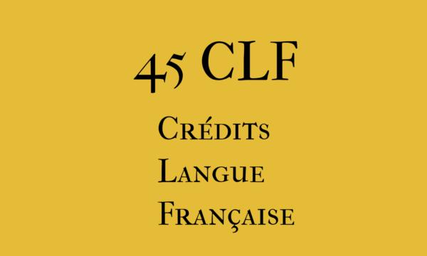45 CLF